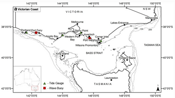 Identifying Oceanographic Conditions Conducive to Coastal Impacts on Temperate Open Coastal Beaches