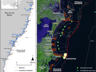 New paper about Mapping the Shoreface of Coastal Sediment Compartments