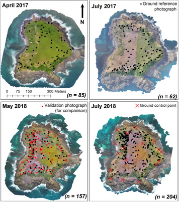 A New Paper about UAV Mapping of Island Vegetation!