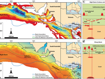 What is underneath? Our Members Mapped the Volcanoes Buried in the Central Offshore Otway Basin