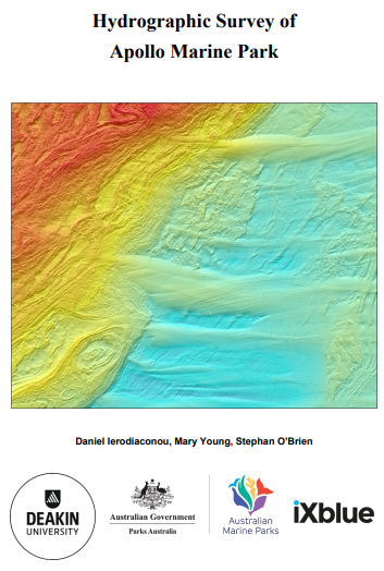 Congrats on the Hydrographic Survey of Apollo Marine Park