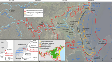 Sediment Budget of A River-fed Wave-dominated Coastal Compartment
