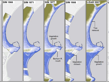 Quantifying Decadal Volumetric Changes in Sandy Beaches using Historical and Contemporary Data