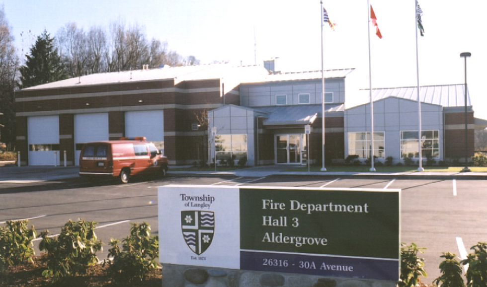 Fire Halls Aldergrove
