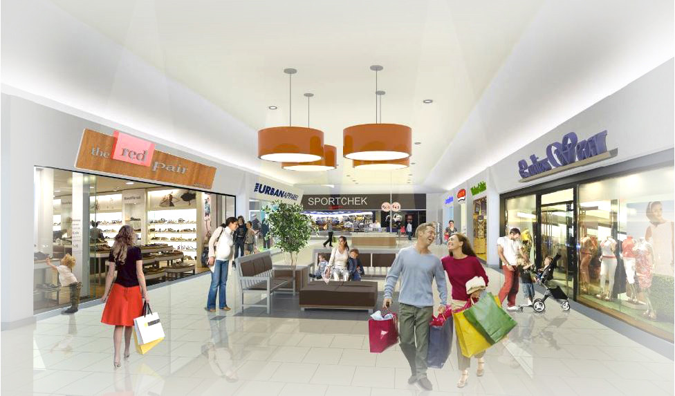 Chilliwack Mall Interior Render
