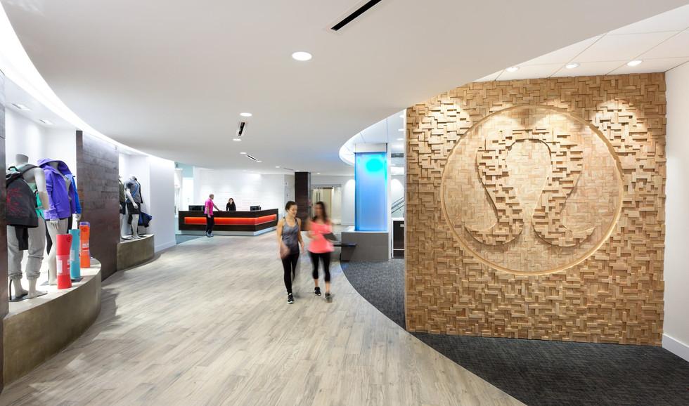 Lululemon Head Office Hallway