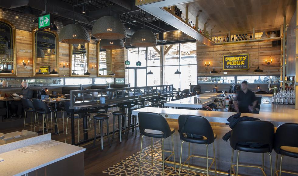 Liberty Kitchen Bar and Seating
