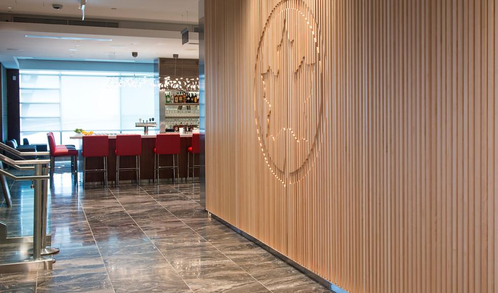 Air Canada Maple Leaf Lounge Entrance
