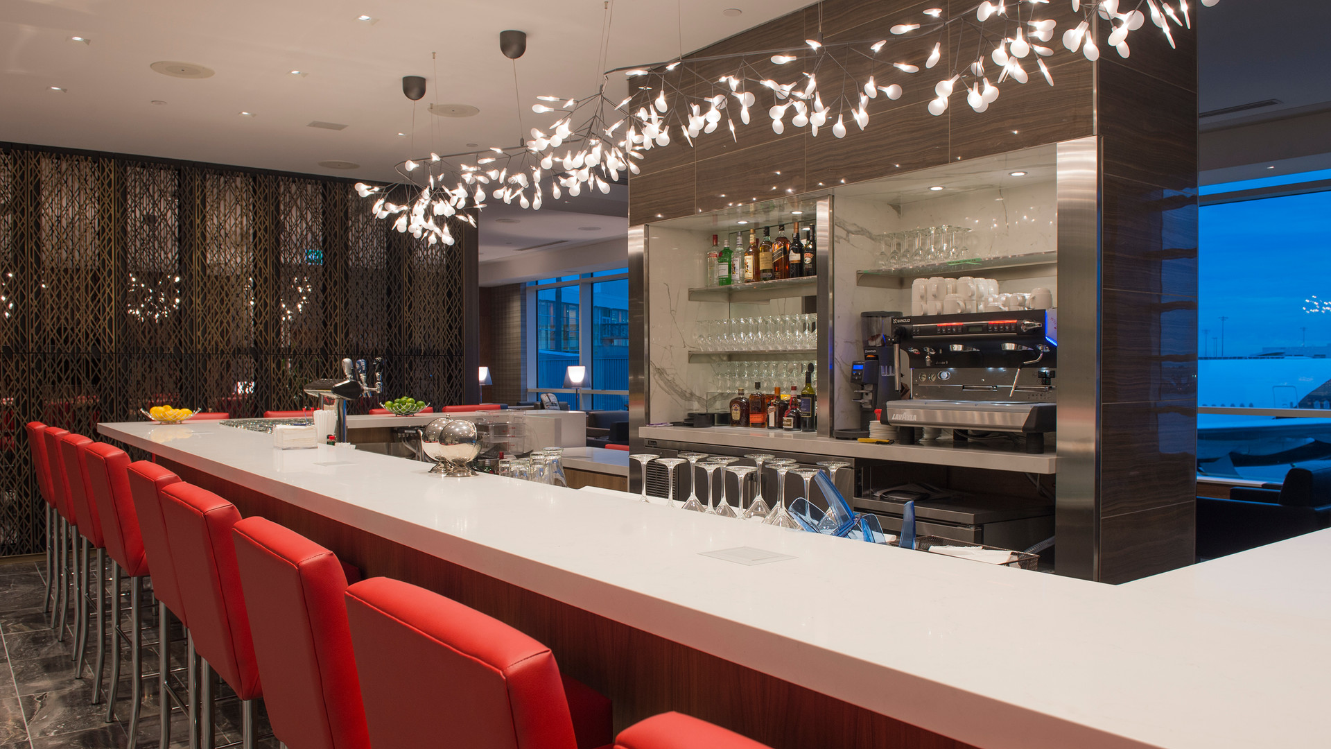 Air Canada Maple Leaf Lounge Hight Seating 2