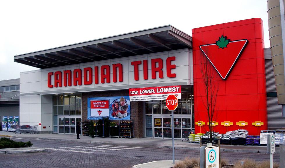Canadian Tire Exterior Front Facade