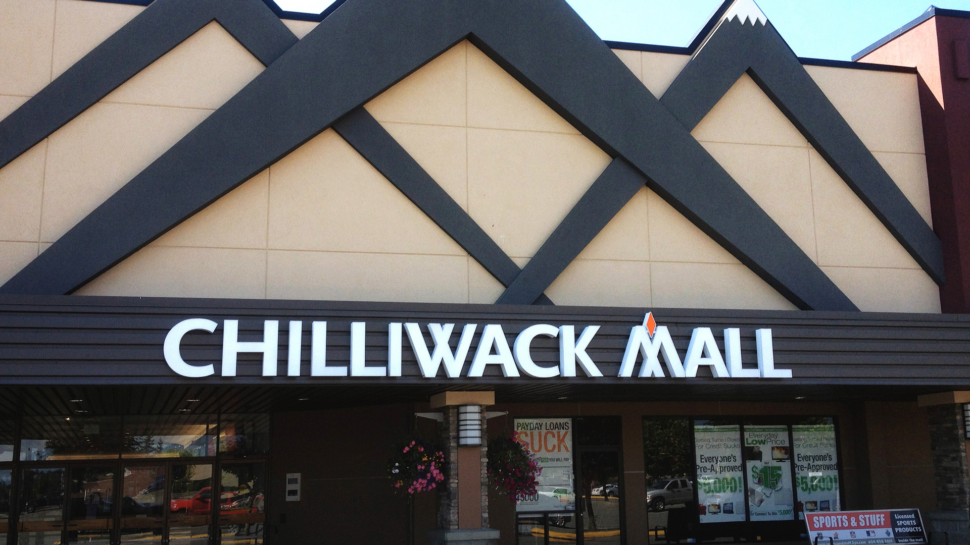 Chilliwack Mall Front Facade