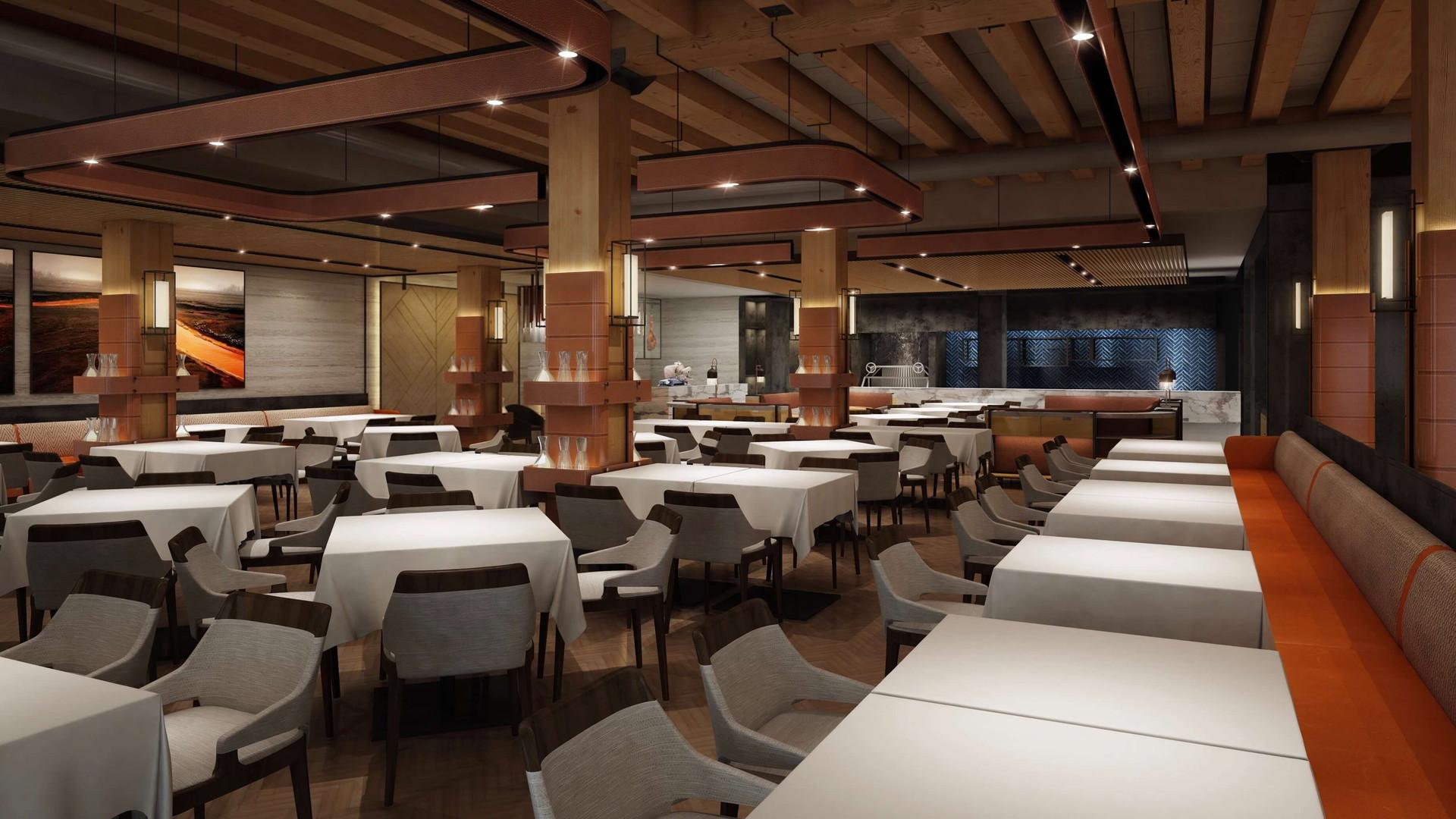 Elisa Steakhouse Interior