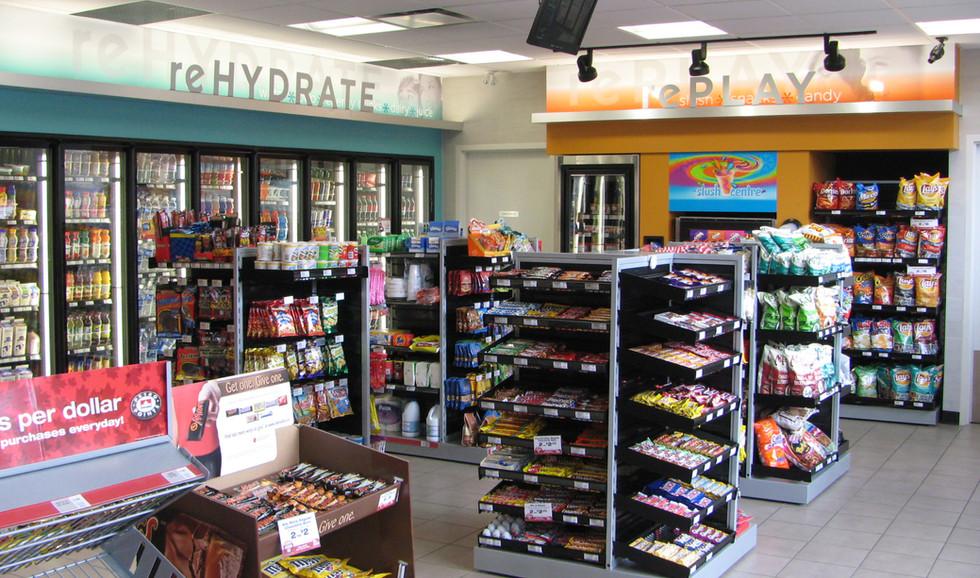 Petrol Canada Convenient Store Interior