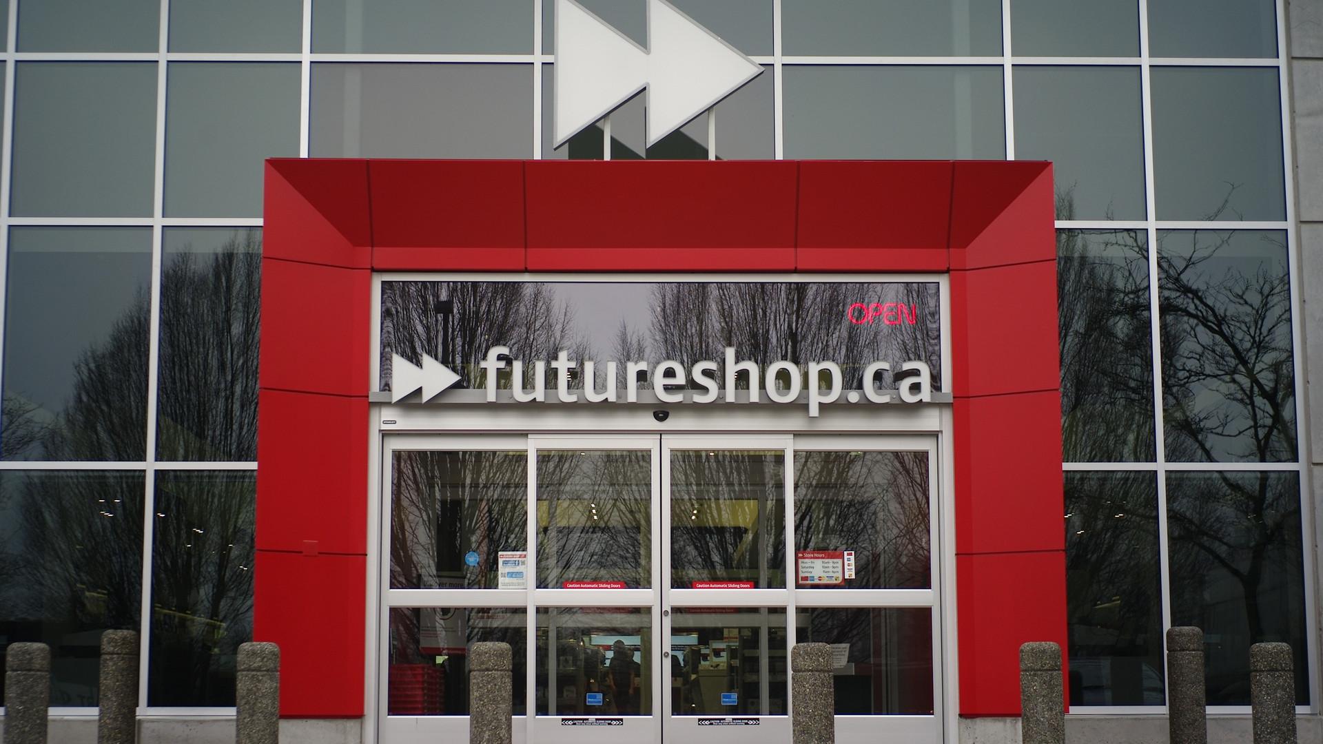 Future Shop North Vancouver Exterior