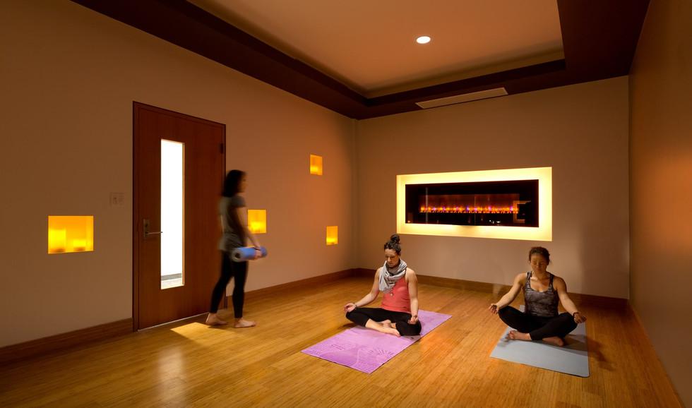 Lululemon Head Office Yoga Room