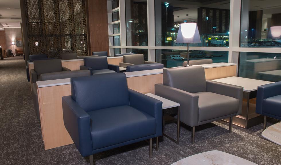 Air Canada Maple Leaf Lounge Seating 2
