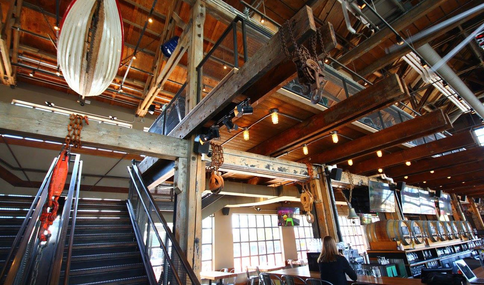 Tap and Barrel Stairway