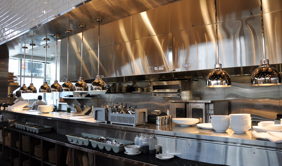 Piva Restaurant Kitchen