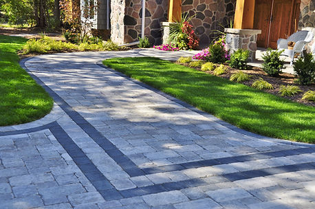 Interlockin Brick Driveway