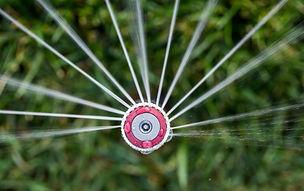nozzel, water, lawn, sprinkler, irrigation system