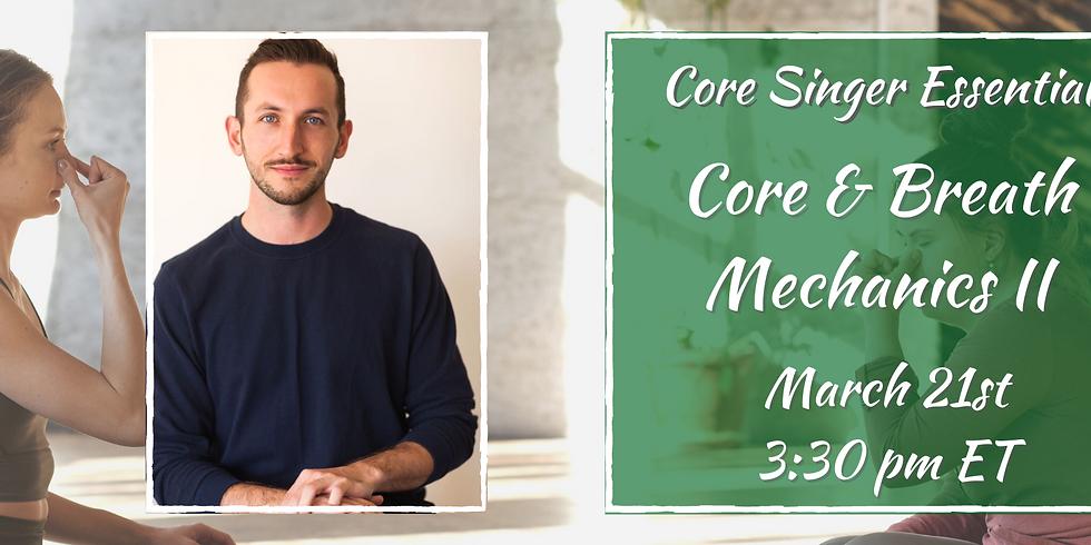 Core & Breath Mechanics II with Jay Colwell