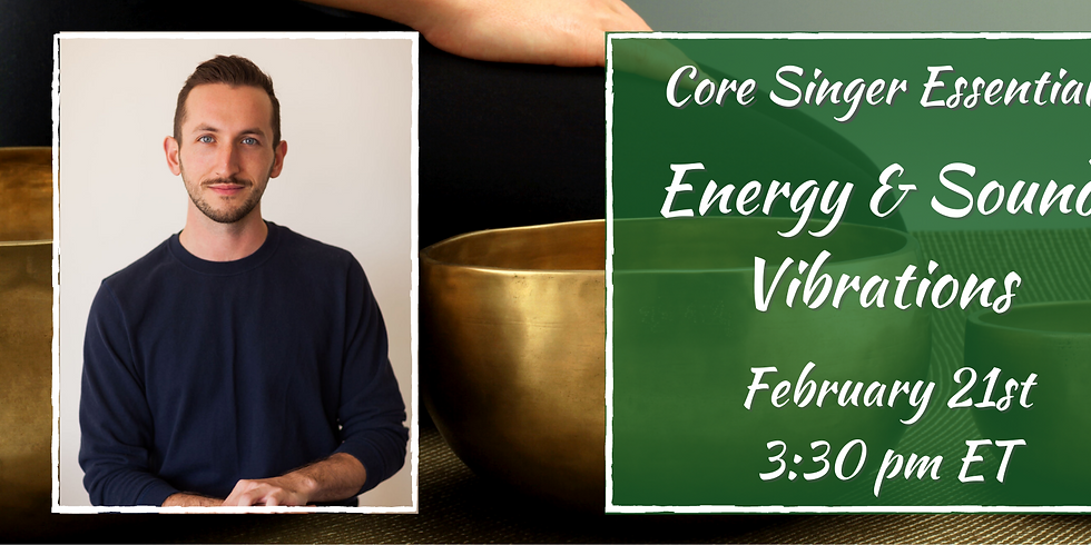 Energy & Sound Vibrations with Jay Colwell
