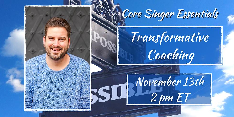 Transformative Coaching with Nicholas Pallesen
