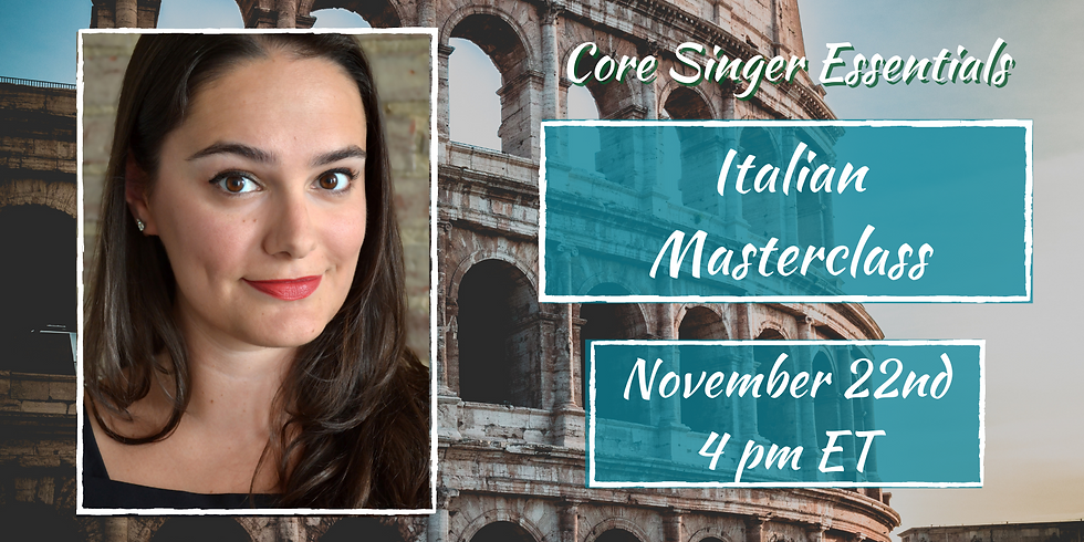 Italian Masterclass with Claire Galloway