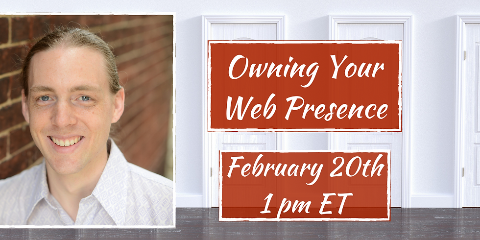 Owning Your Web Presence with Rob McGinness