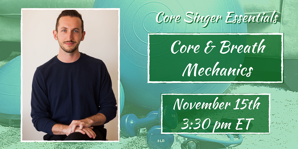 Core & Breath Mechanics with Jay Colwell