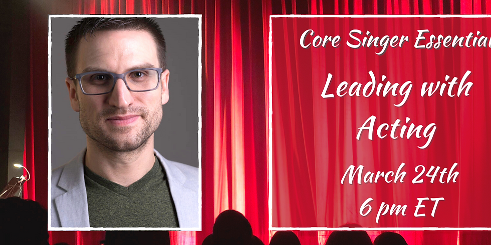 Leading with Speech & Acting with Andrew Hann