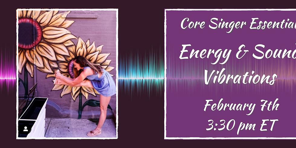Energy & Sound Vibrations Yoga with Elyse Anne Kakacek