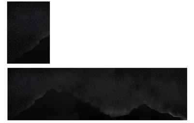 꿈의기호#관악산_75x250cm_archival pigment print