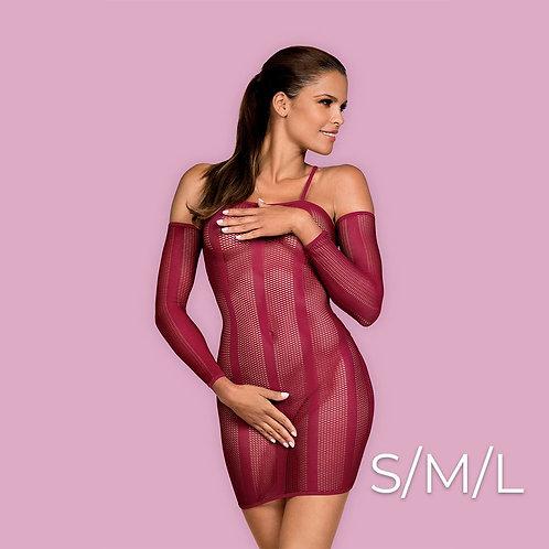 Obsessive - Dressie dress S/M/L - Red