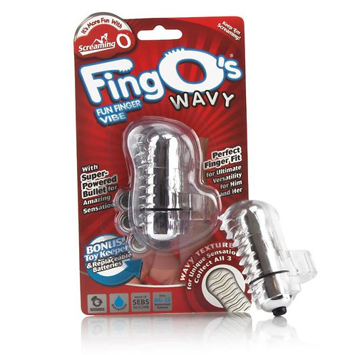 Screaming O FingO's - Wavy - Clear
