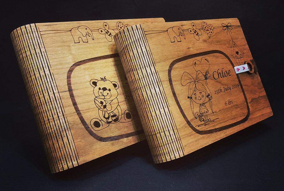 Laser cut Memory Book Box