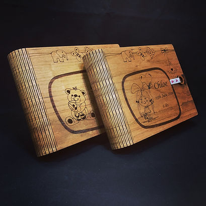 laser cut gift boxes
