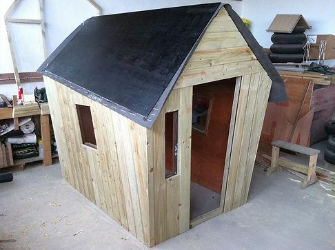 Brendan O'Donnell Design - Custom Insulated Kids Play House