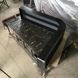 Steel Book Case by Billy Moore Metal Works