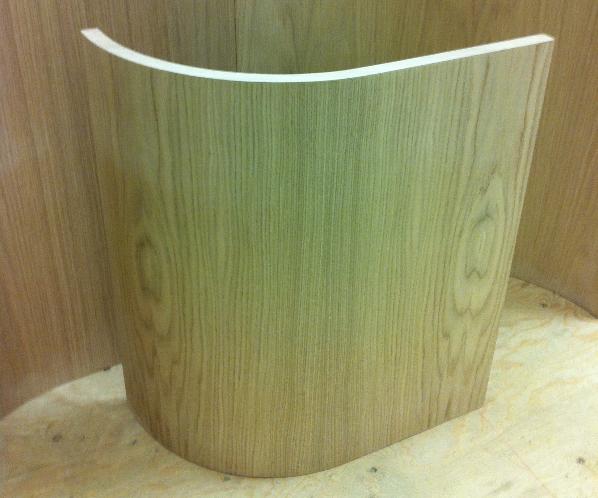 Veneer Slab Door by Curve Craft