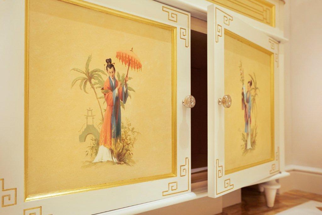 Yellow Vanity Doors