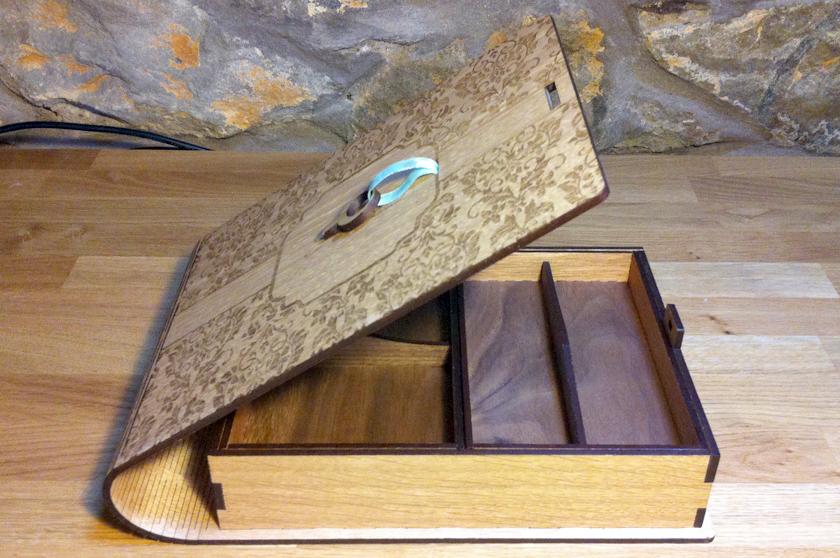 Jewelery Book Box