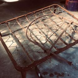 Shepards Seat by Billy Moore Metal Works
