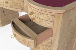 Bridge Oak Desk