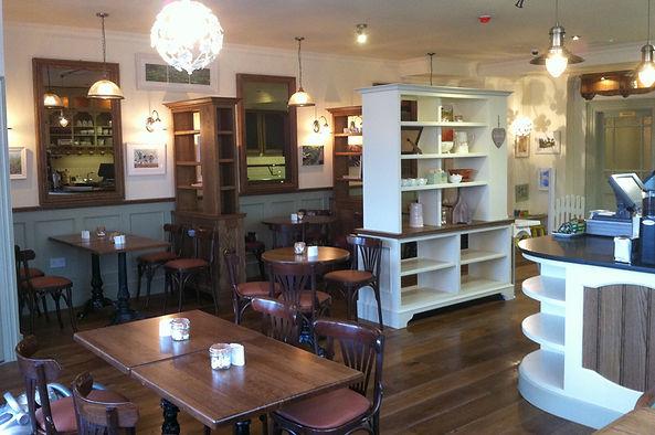 Brendan O'Donnell Design - Meades Cafe Dungarvan