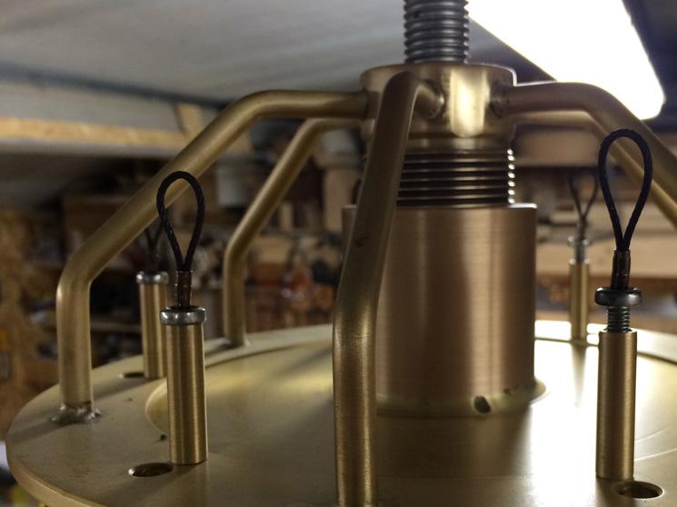 Bespoke Brass Light