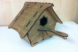 Teak Birdhouse for Cut & Engrave