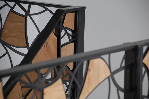 Steel & Oak Bespoke Stairs