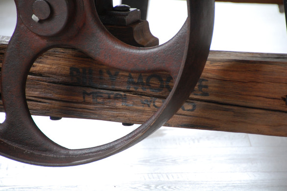 Old Mill Cafe Furniture - Pulley Table