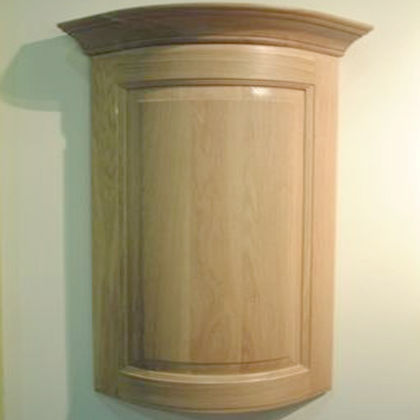 Oak Curved Door by Curve Craft